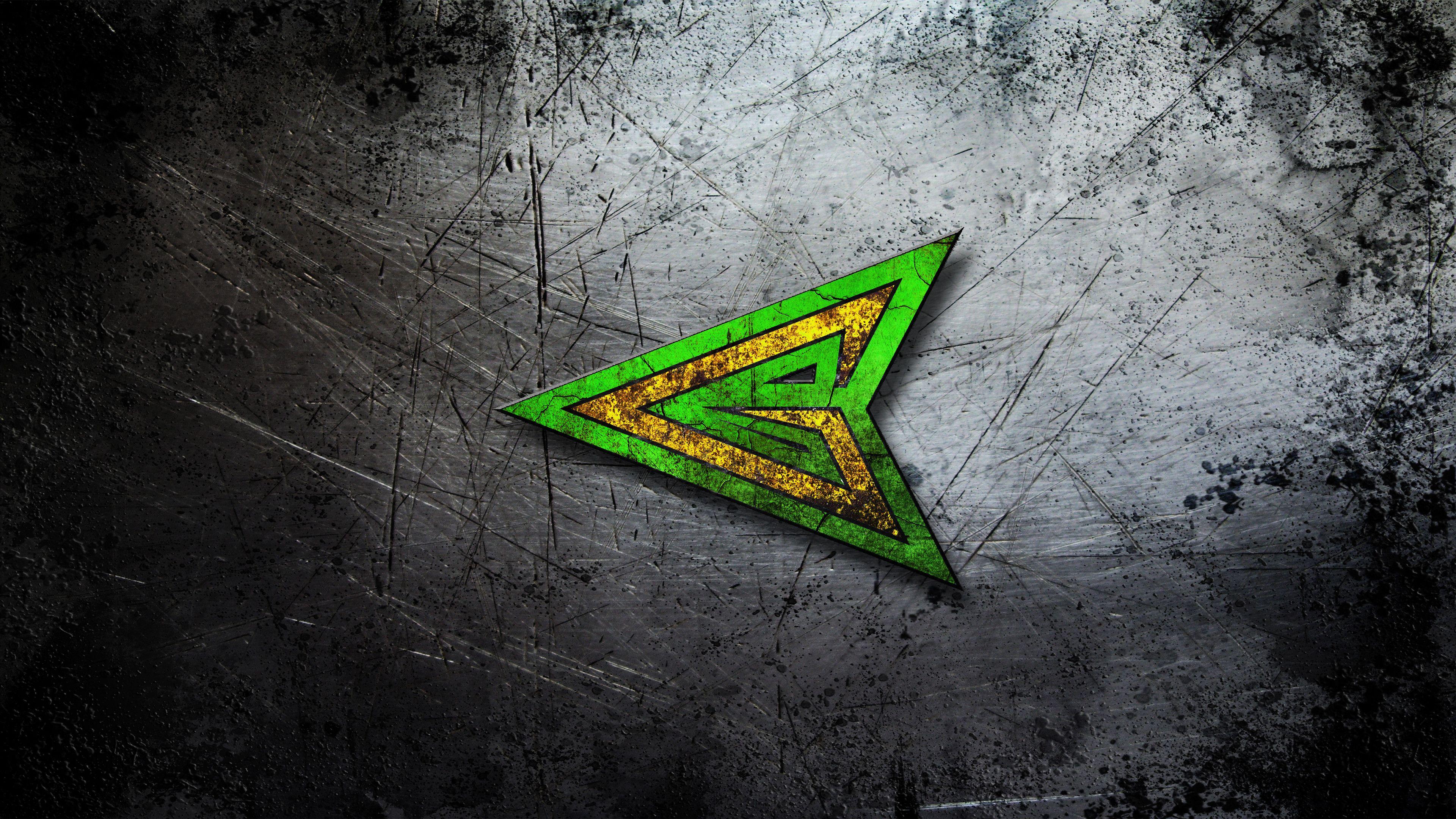Green Arrow Logo Wallpapers Wallpaper Cave
