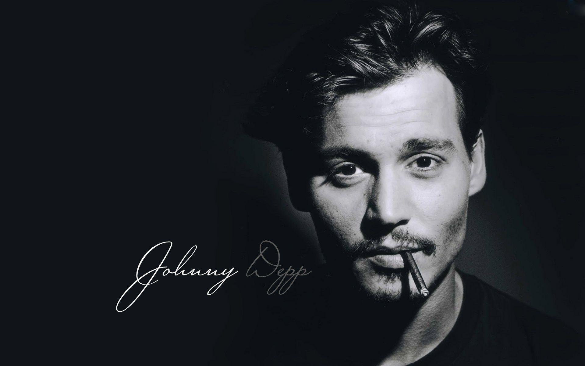 Johnny Depp Smoking Wallpapers