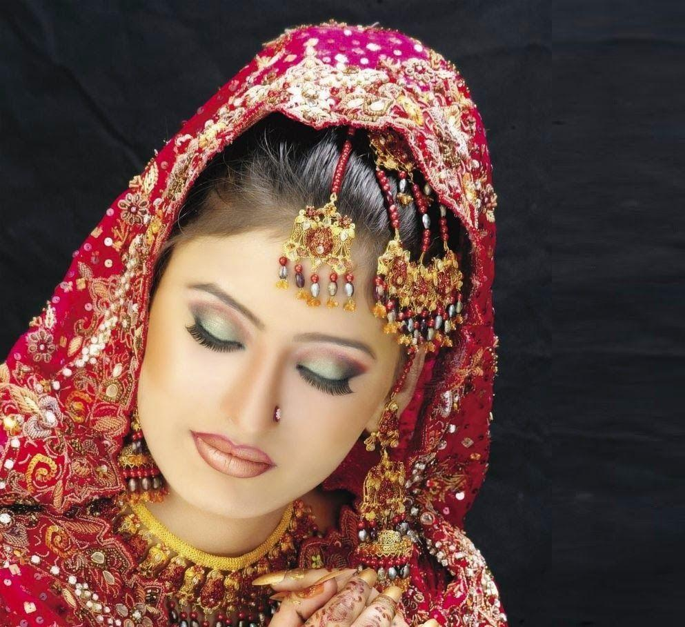 Asian Bridal Hair Make Up Artist London Hd: Indian Dulhan Wallpapers