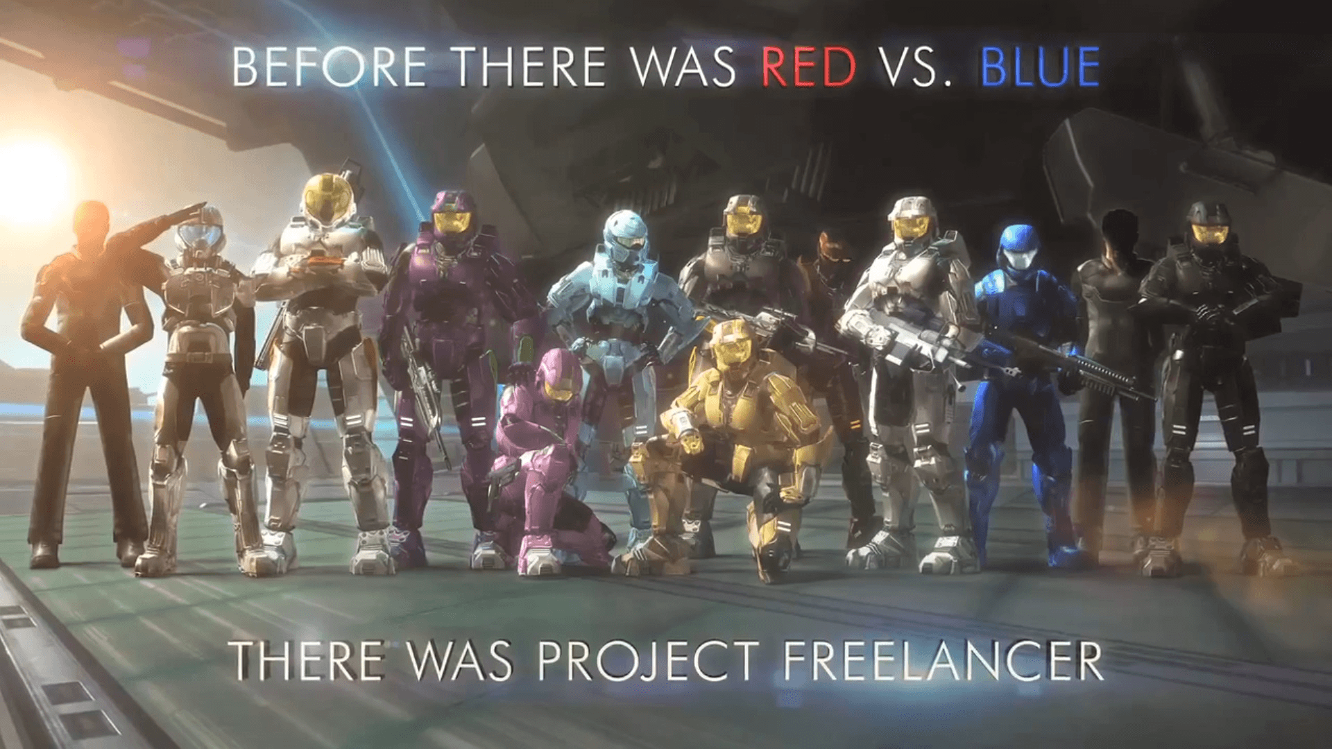 Halo Red Vs Blue Project Freelancer Wallpapers - Wallpaper ...