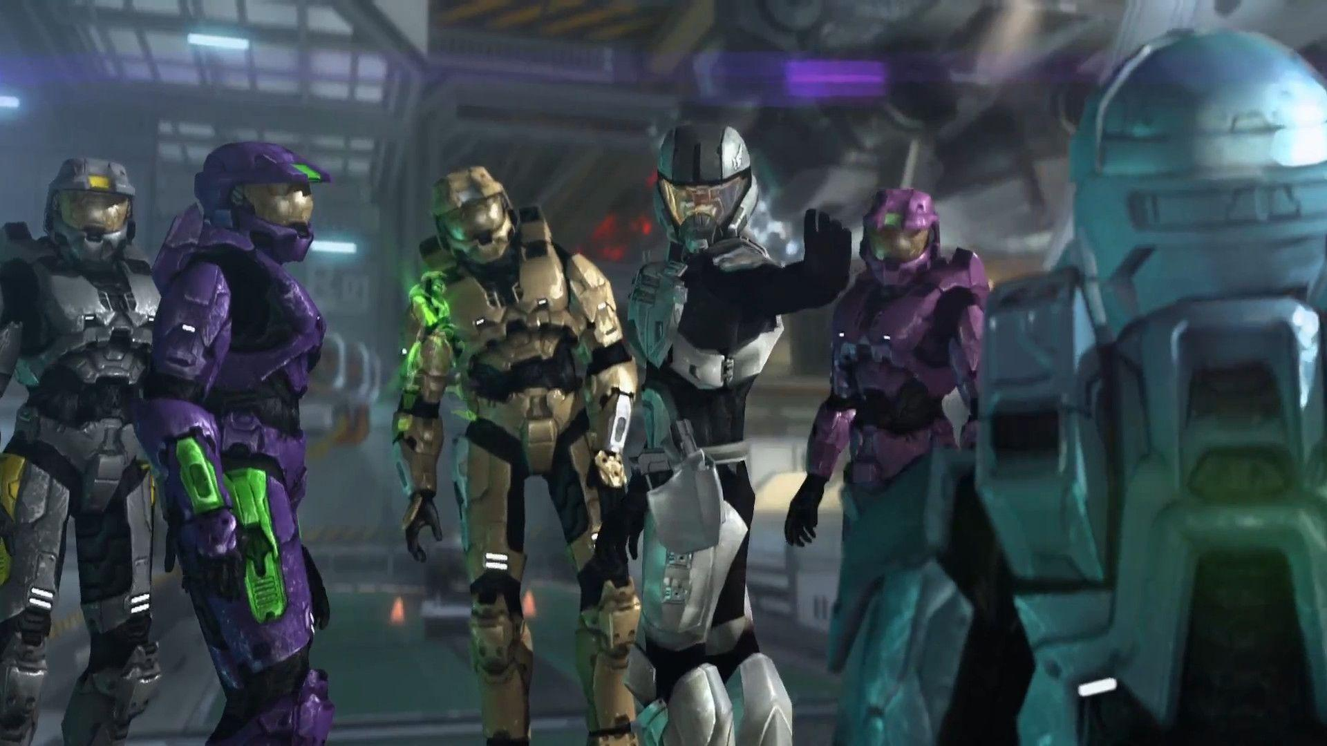 Halo Red Vs Blue Project Freelancer Wallpapers Wallpaper Cave