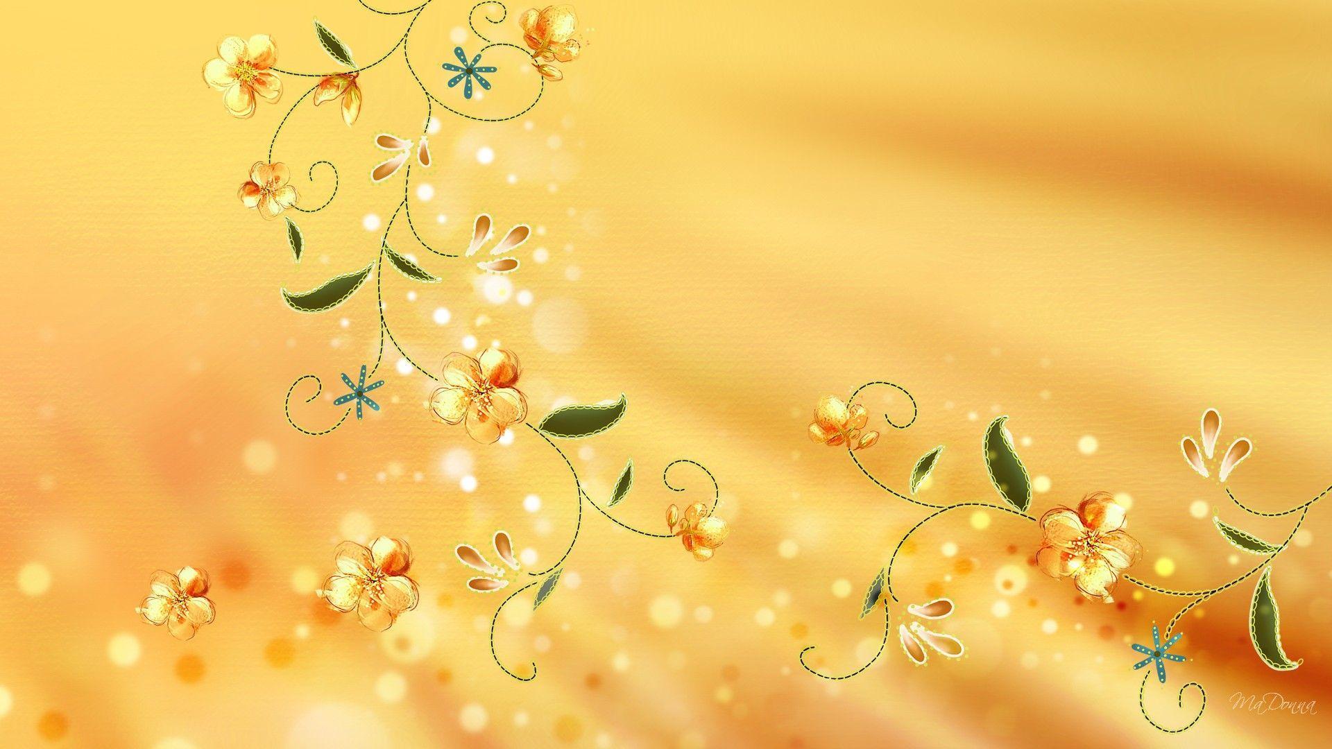Golden Color Backgrounds Wallpaper Cave