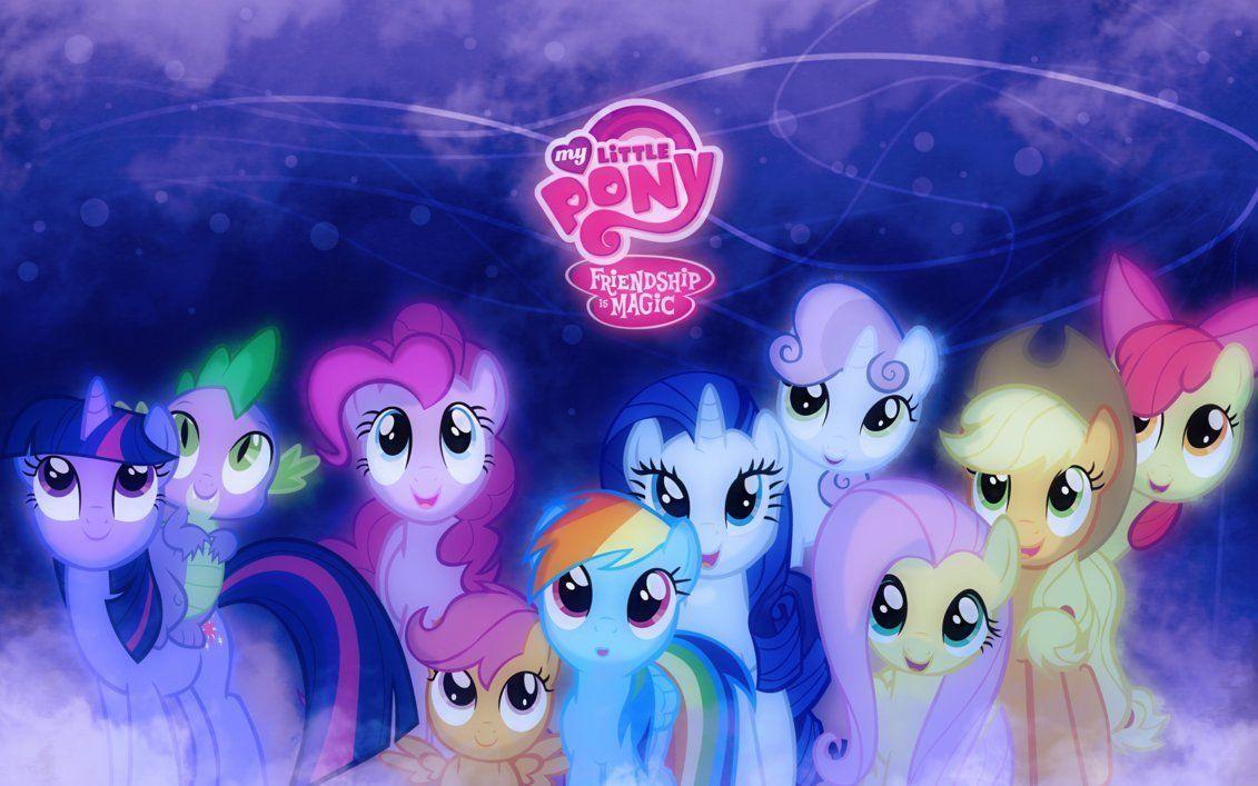 My Little Pony Wallpapers Deviantart Wallpaper Cave