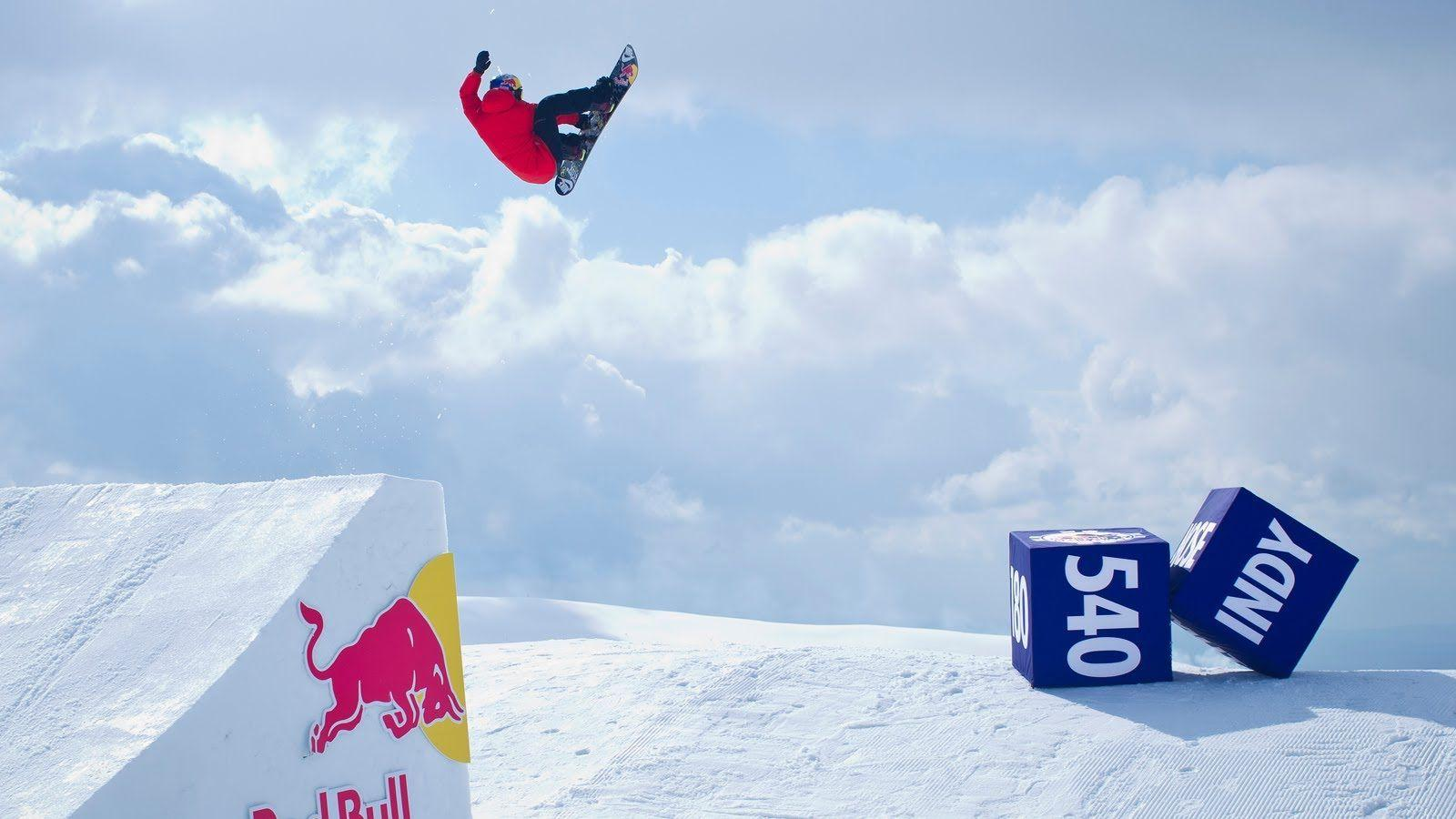 Red Bull Snowboarding Wallpapers Wallpaper Cave