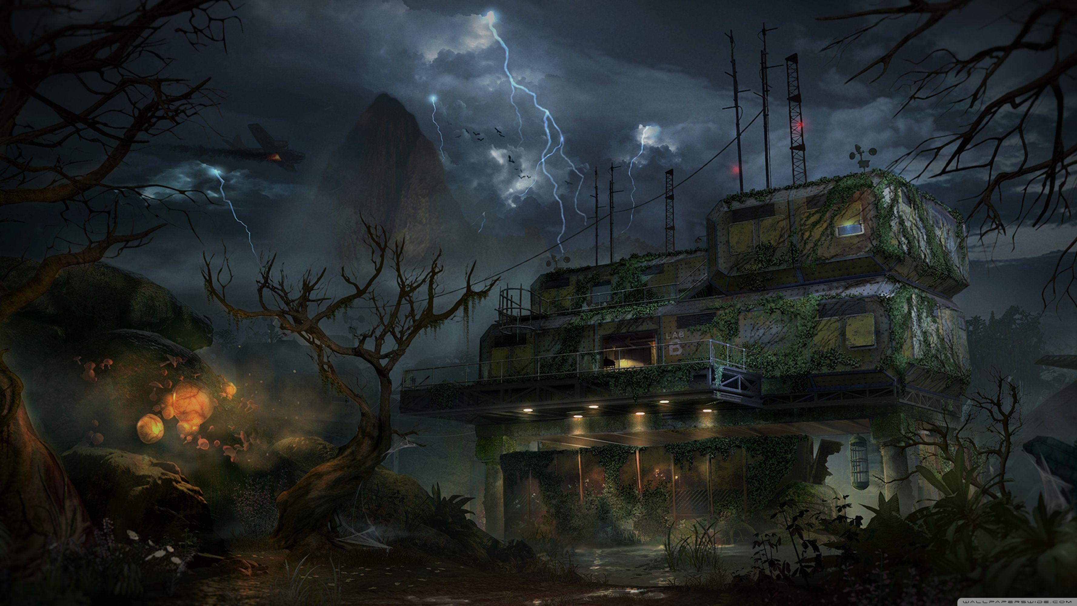 Zombie Wallpaper 4k Sellersagen Org