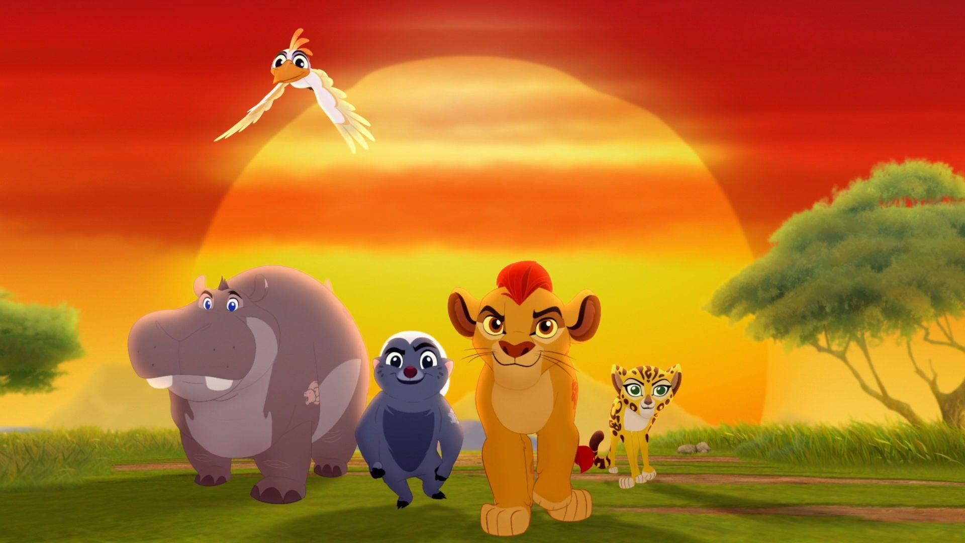 The Lion Gaurd Zoom Background 3