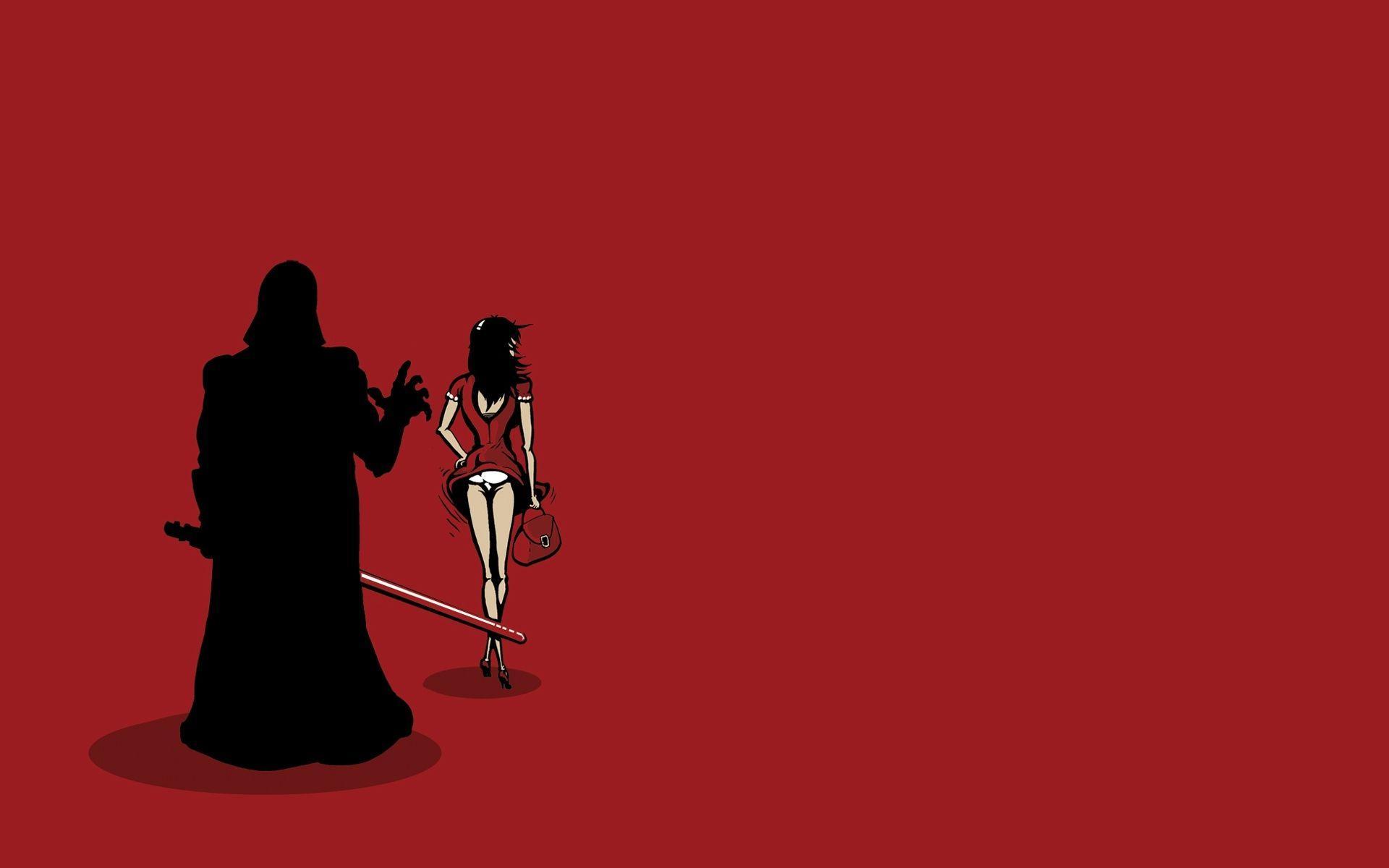 Darth Vader Red Wallpapers Wallpaper Cave