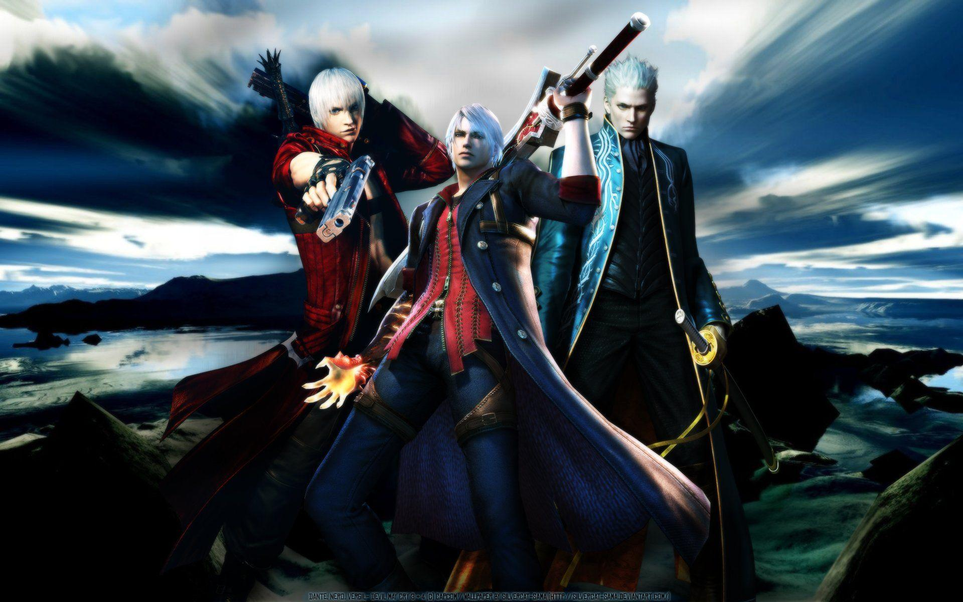 Devil May Cry 4 Wallpapers Nero And Dante Wallpaper Cave