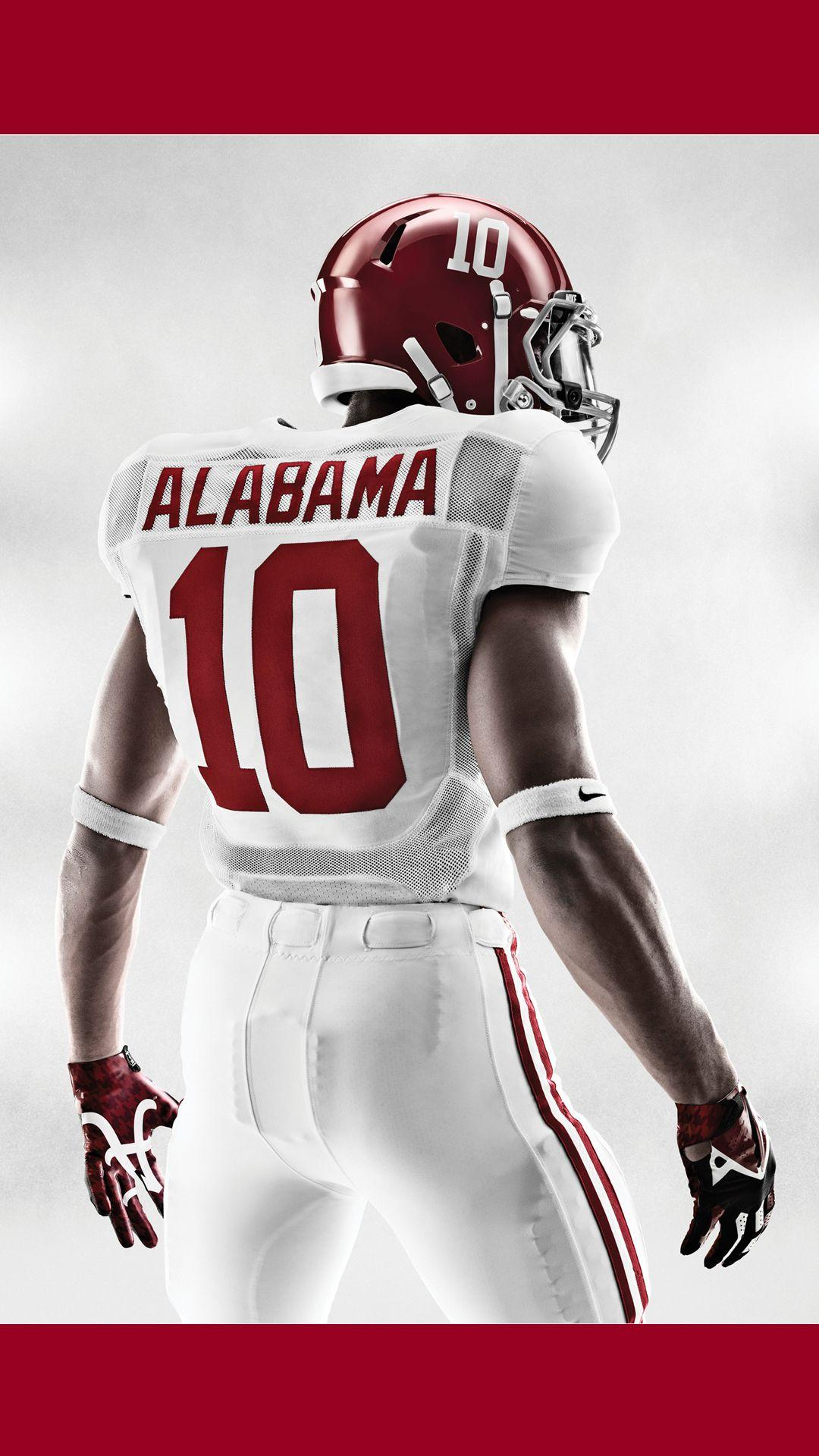 Free Alabama Wallpapers For Mobile Phones with Nike Jersey
