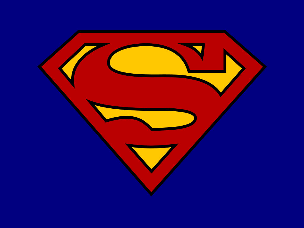 Superman Logo Wallpapers Blue Wallpaper Cave