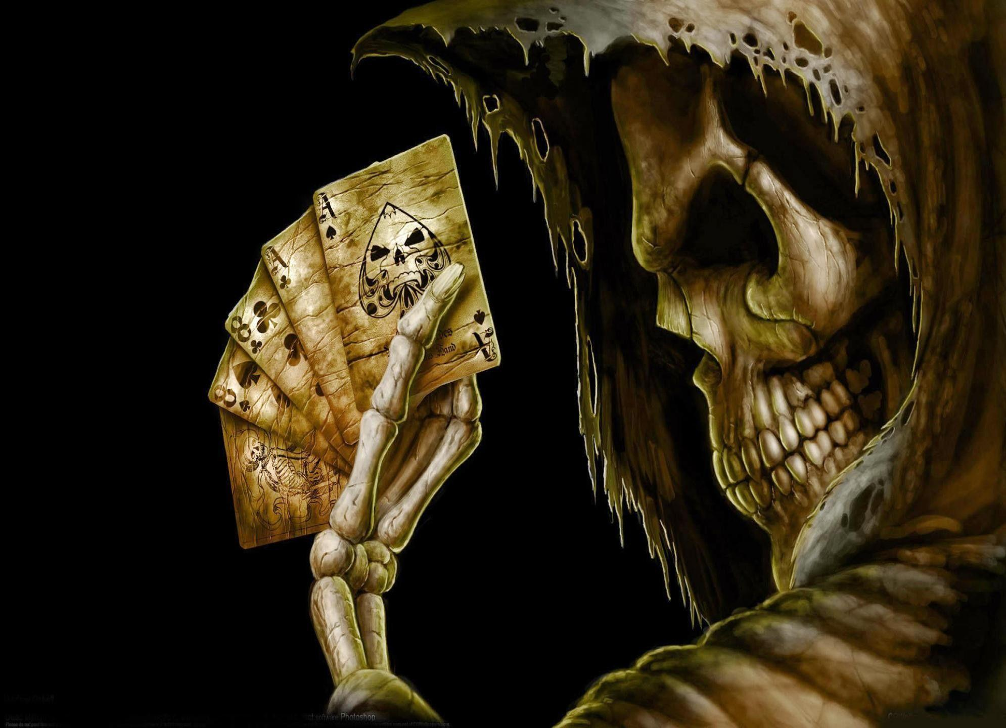 Scary Skeleton Wallpaper (66+ images)
