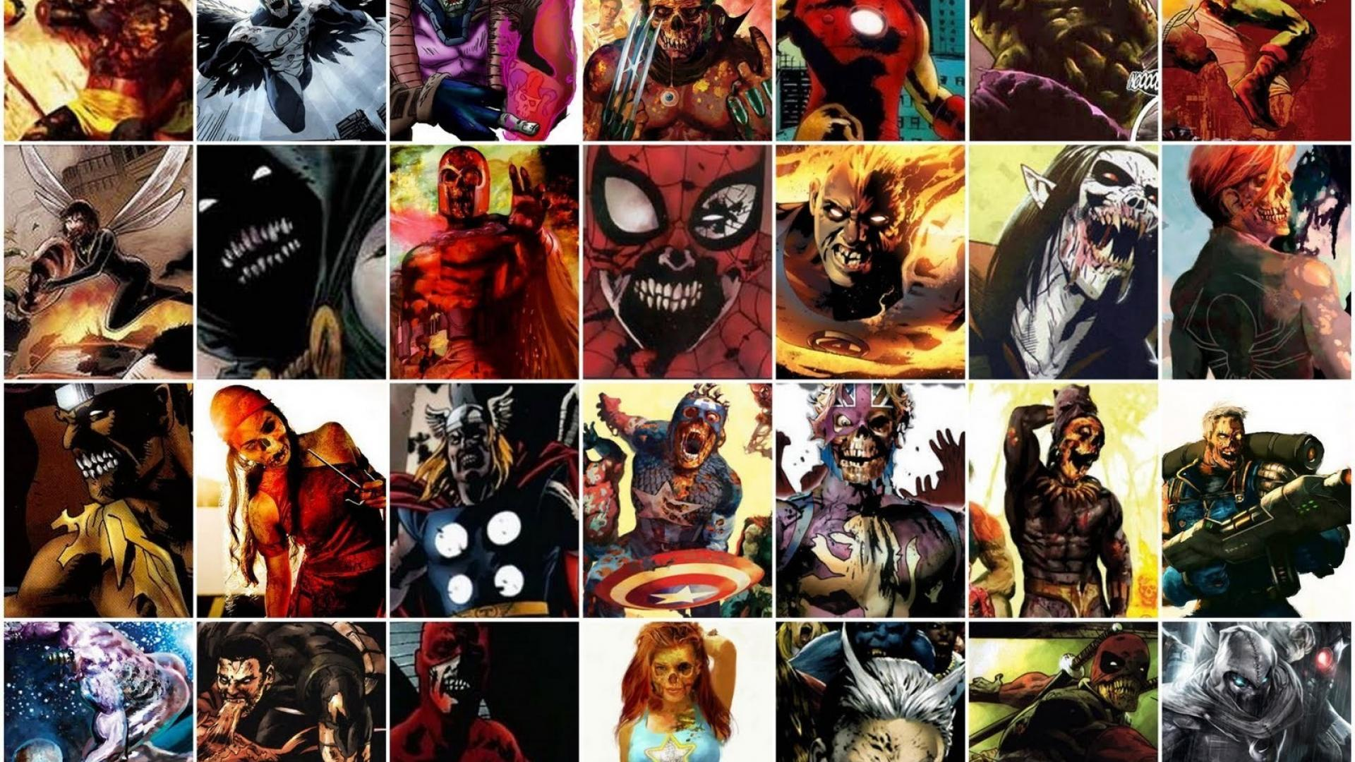 Marvel Zombies Wallpapers Hd Wallpaper Cave