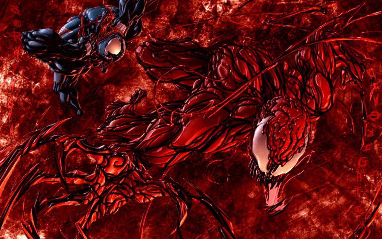 Venom Vs Carnage Wallpapers Wallpaper Cave