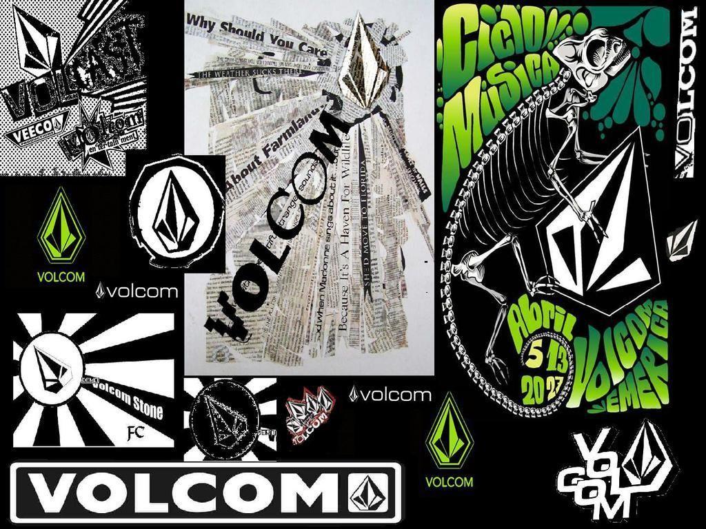 トップ Volcom Logo Design 縮む