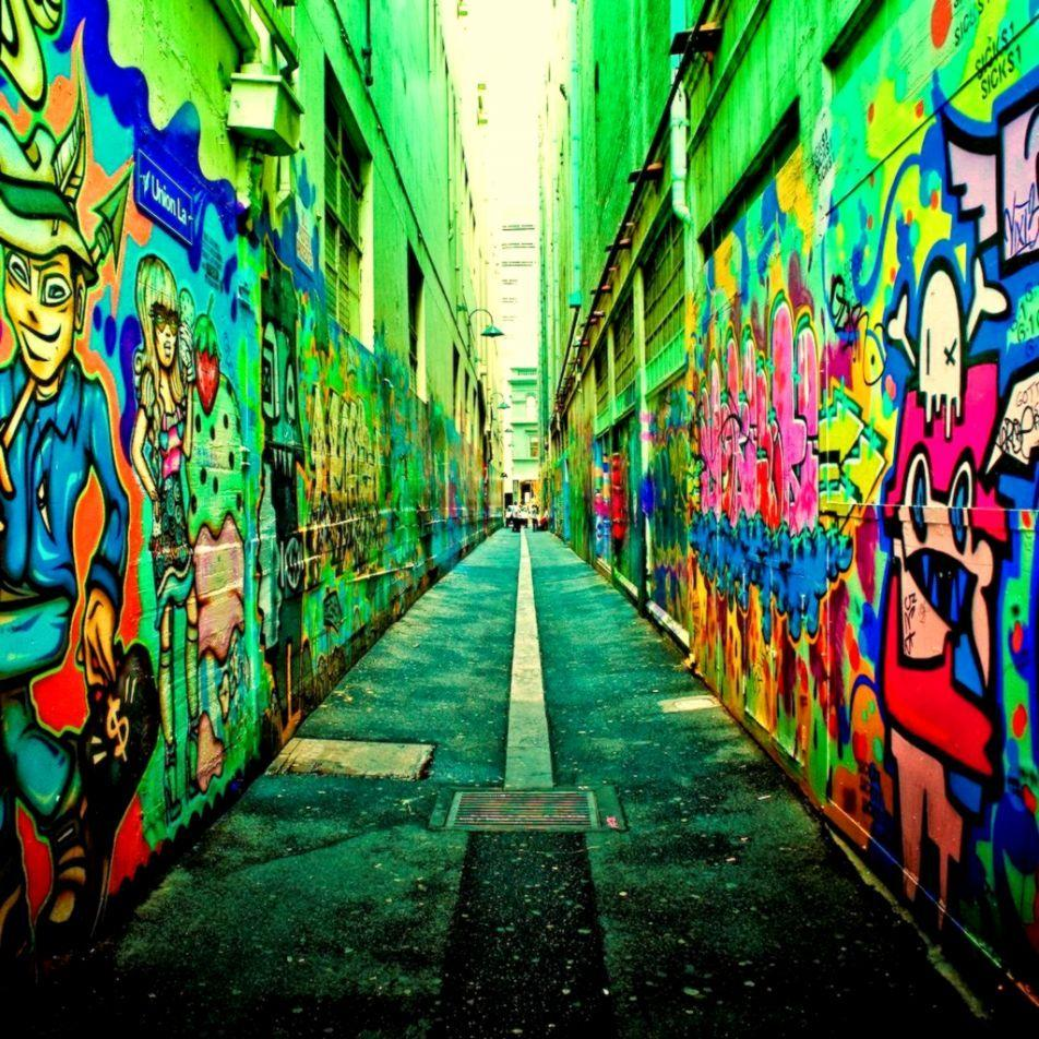 Street Graffiti Wallpapers Wallpaper Cave