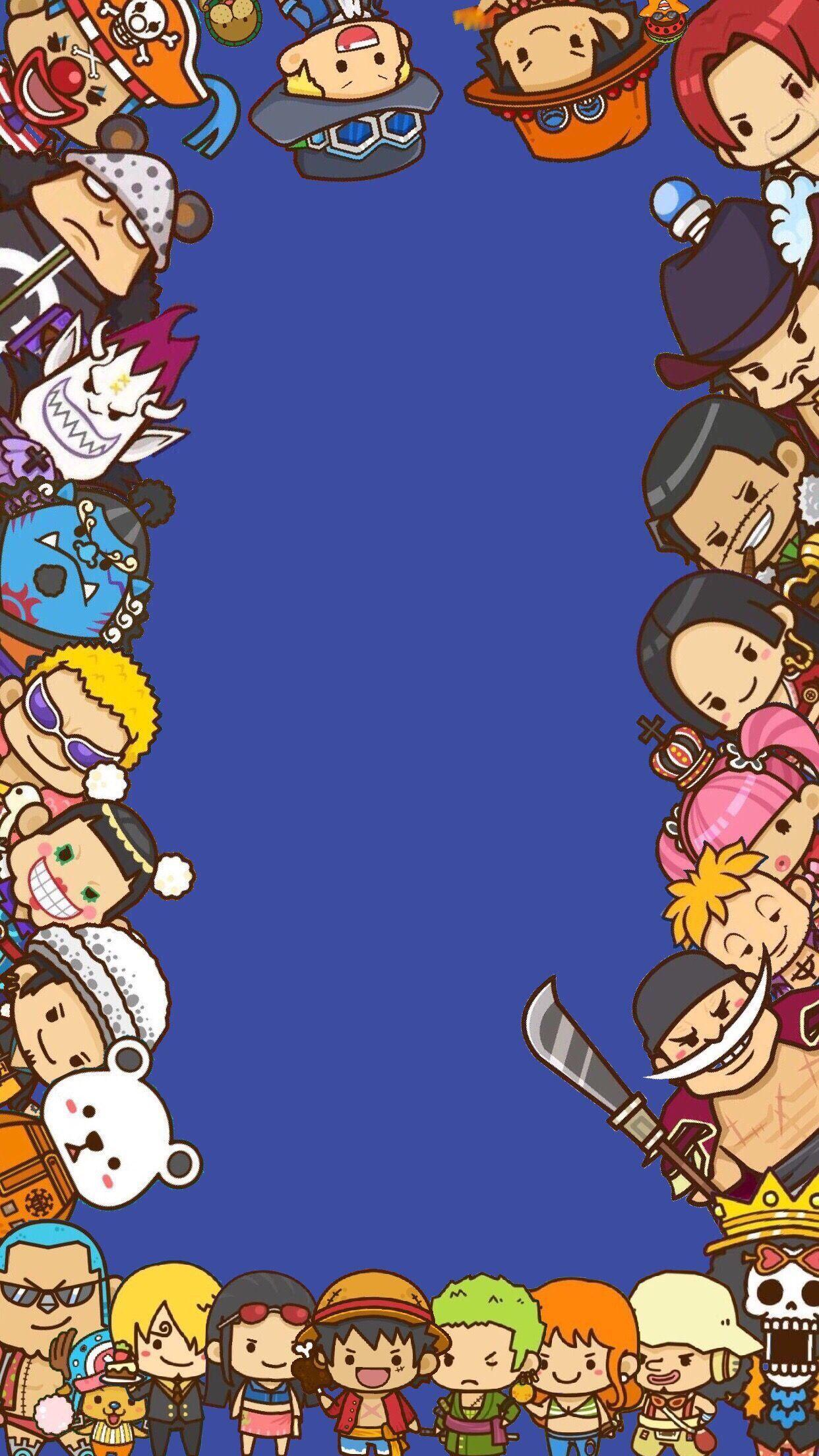 Chibi One Piece Backgrounds Wallpaper Cave