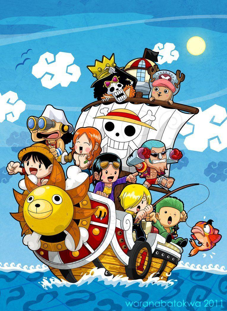 Luffy Chibi Android Wallpapers Wallpaper Cave