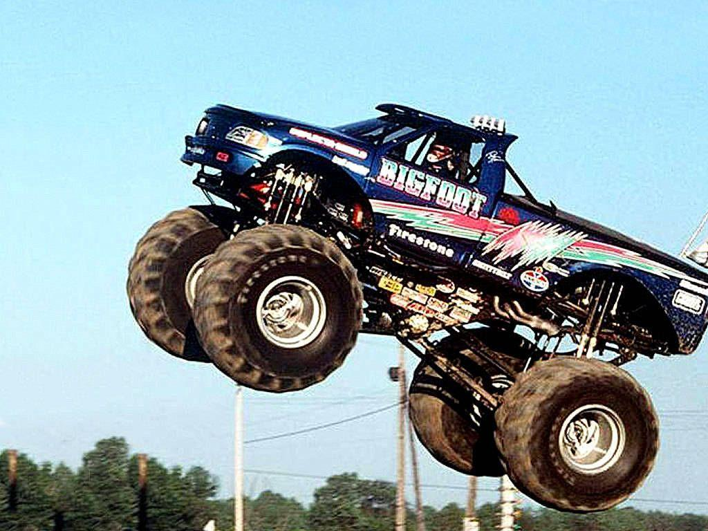 Bigfoot Monster Truck Wallpapers Wallpaper Cave