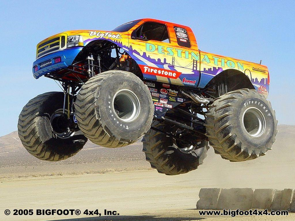 Monster Truck Wallpaper - Wallpapers Browse