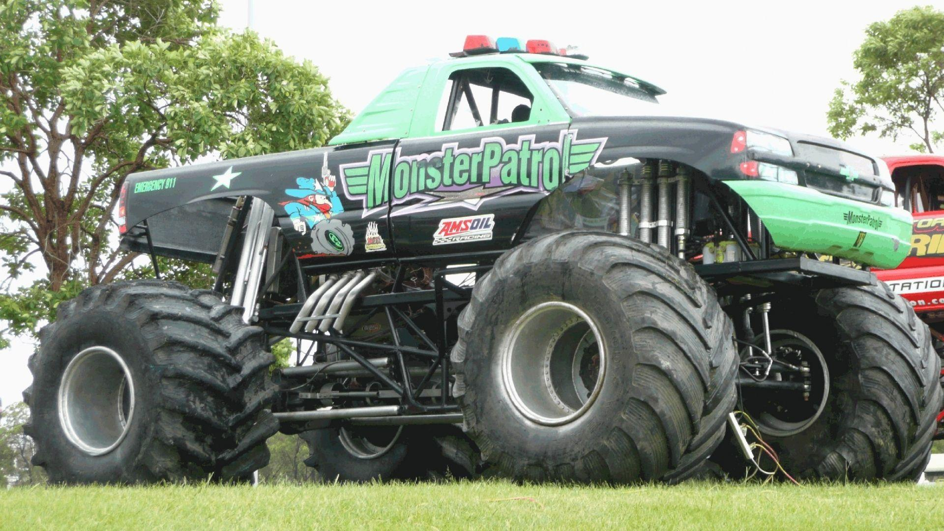 Image - Monster-Truck-Racing-1920x1080-Wallpapers.jpg | Monster ...