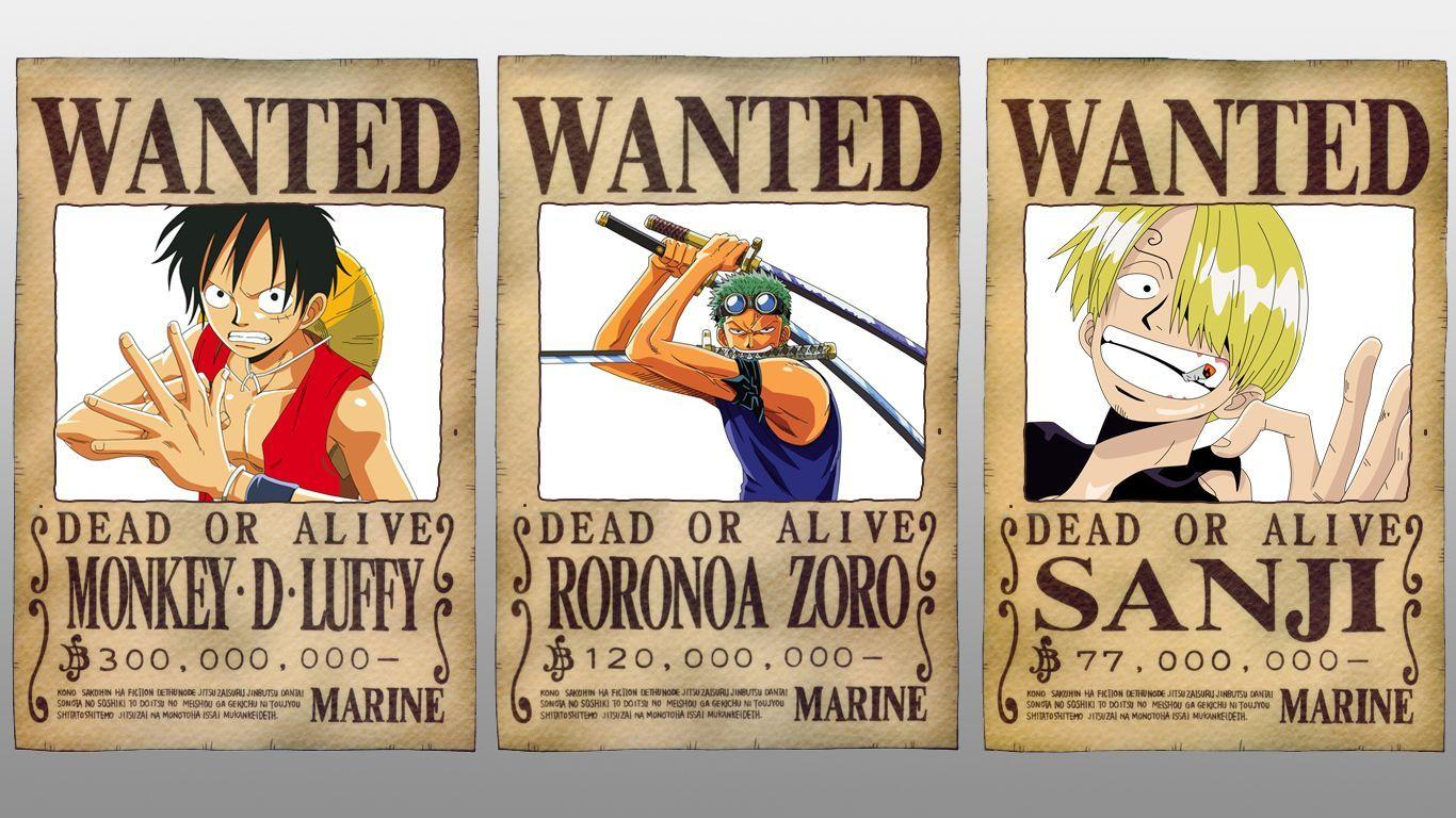 One Piece Wanted Wallpapers Wallpaper Cave