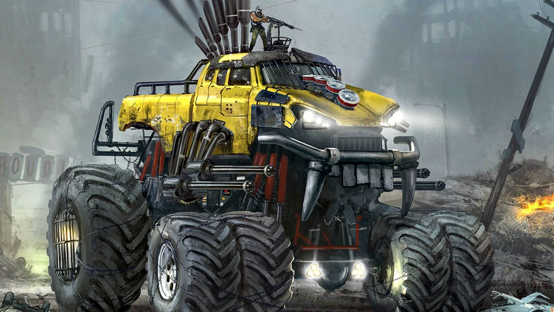 Monster Truck Hd Wallpapers Wallpaper Cave