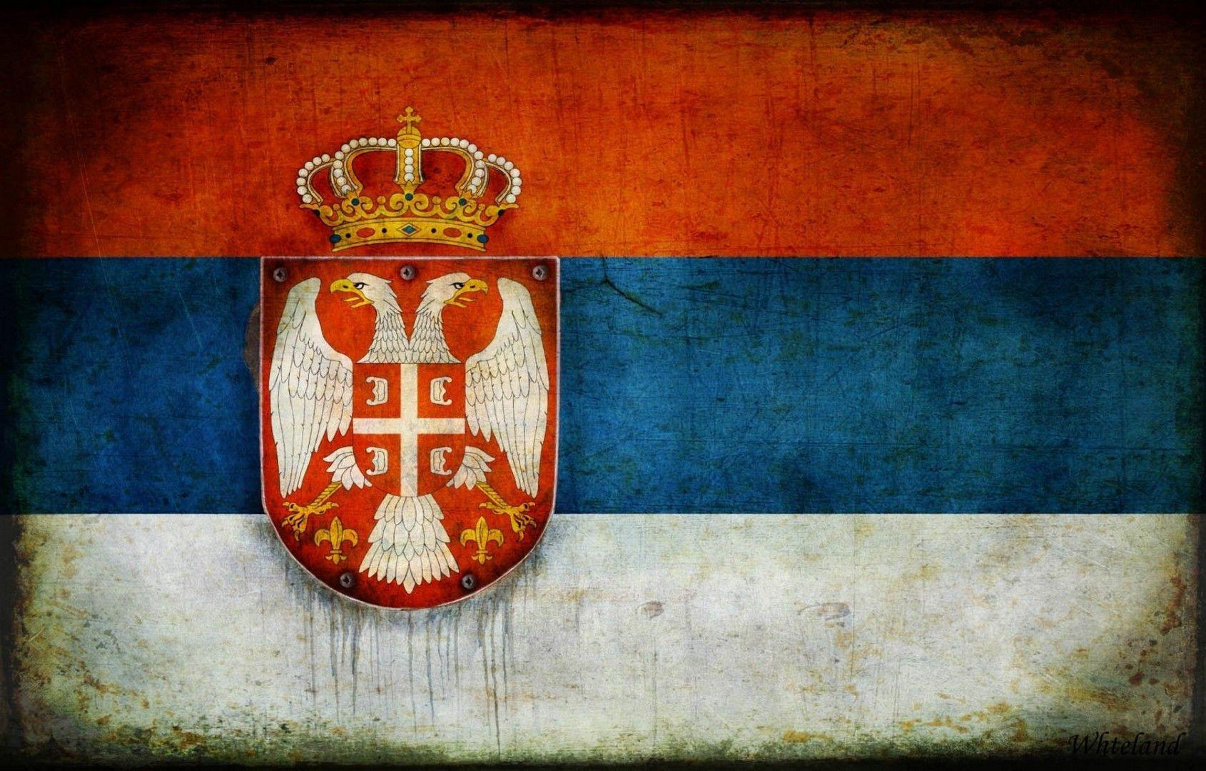 Flag of Serbia wallpapers