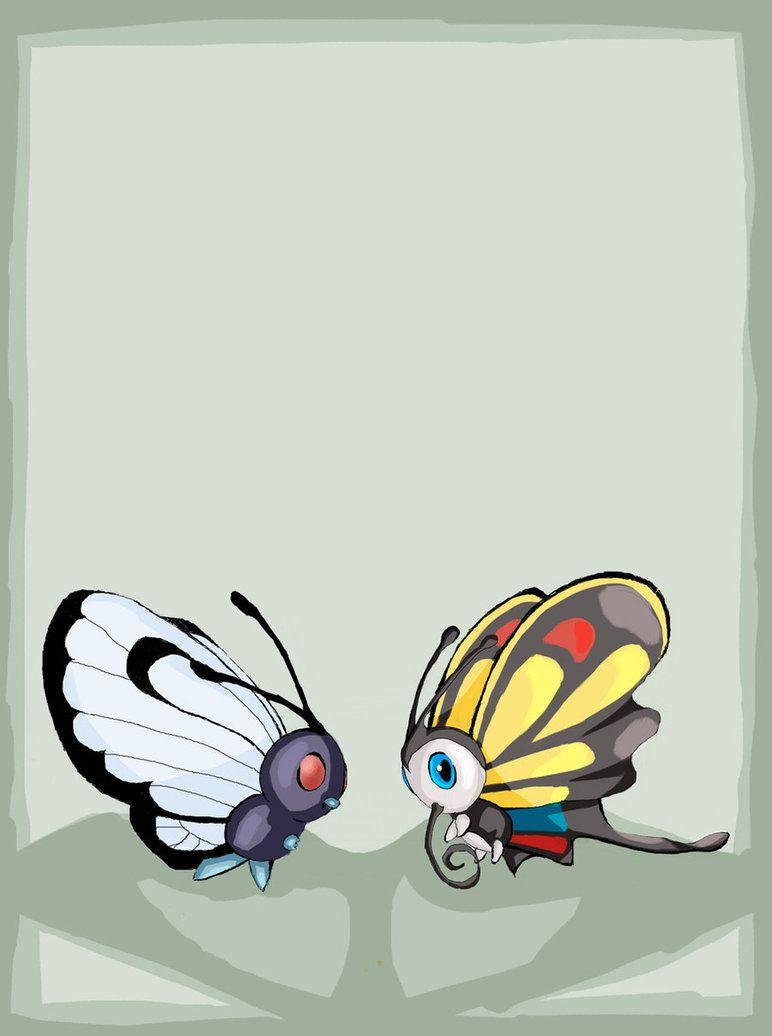 Butterfree and Beautifly by experimental