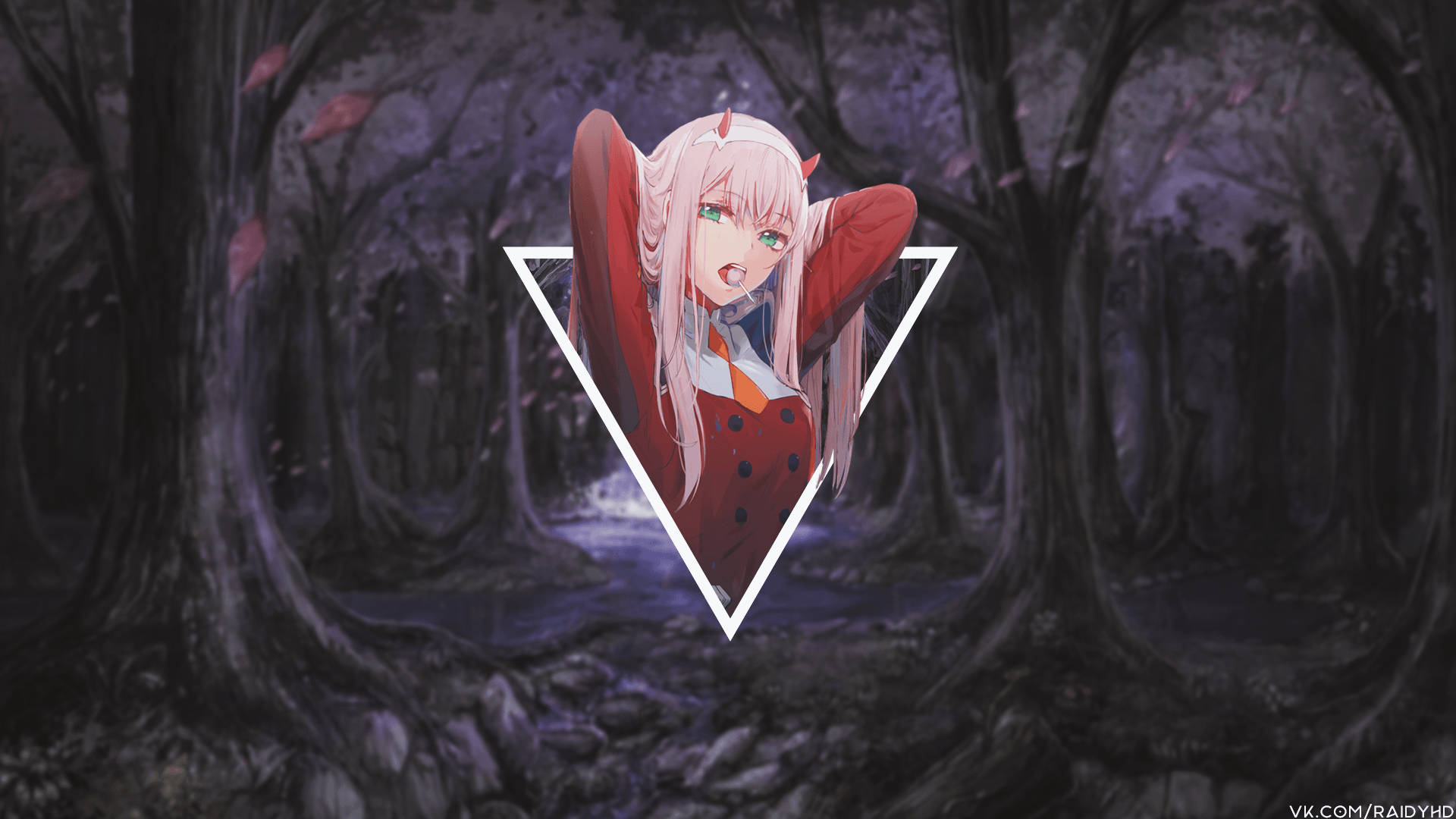 Zero Two Wallpapers Wallpaper Cave