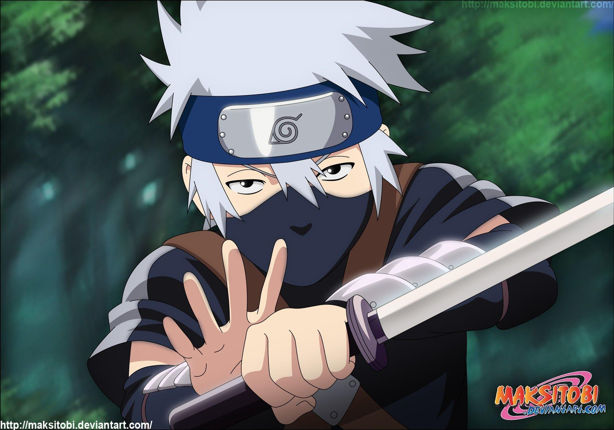 Kakashi Kid Wallpapers - Wallpaper Cave