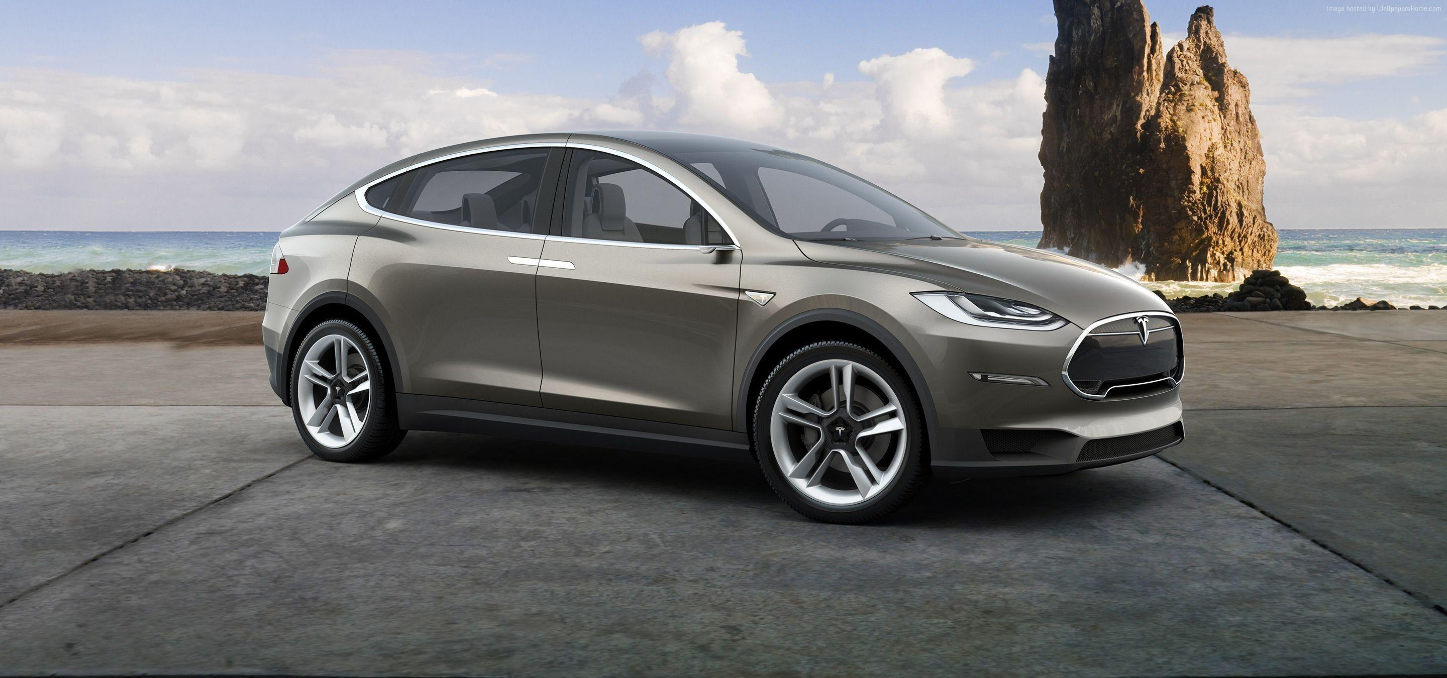 Wallpapers Tesla model x, electric cars, suv, 2016, Cars & Bikes