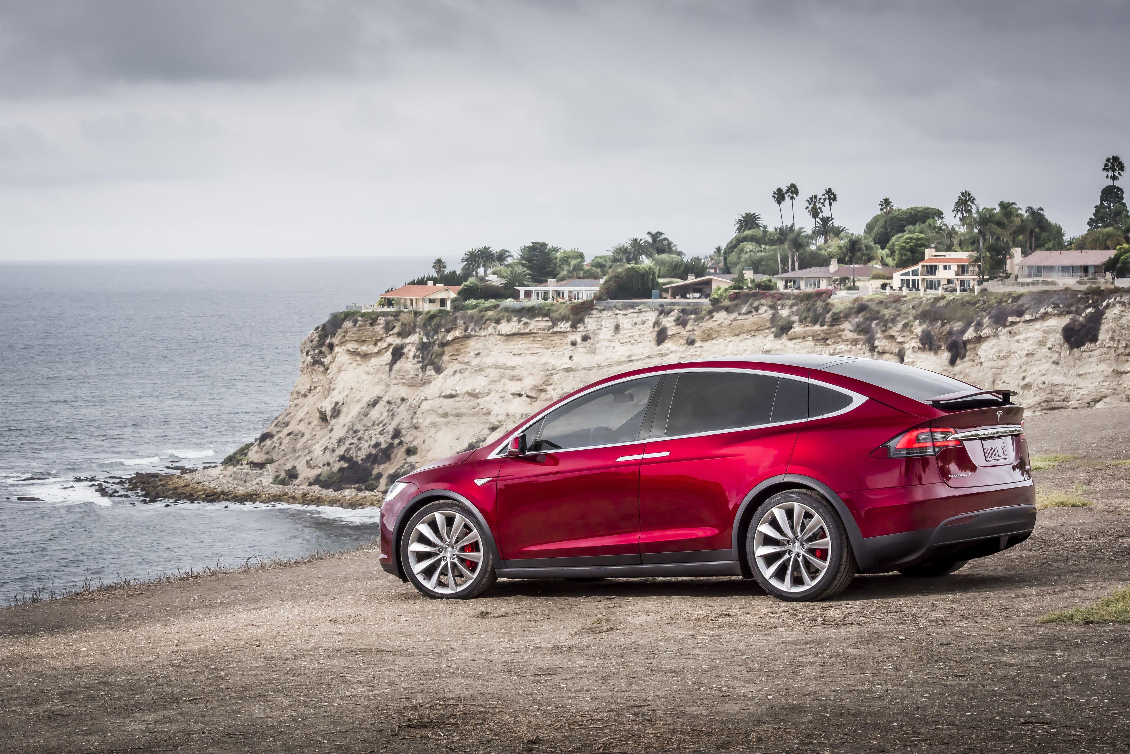 Tesla Model X Wallpapers Wallpaper Cave