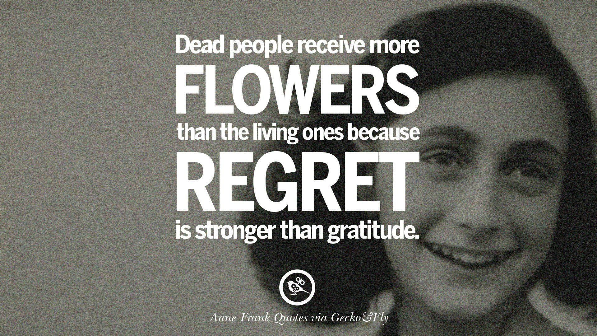 12 Quotes By Anne Frank On Death, Love, And Humanities