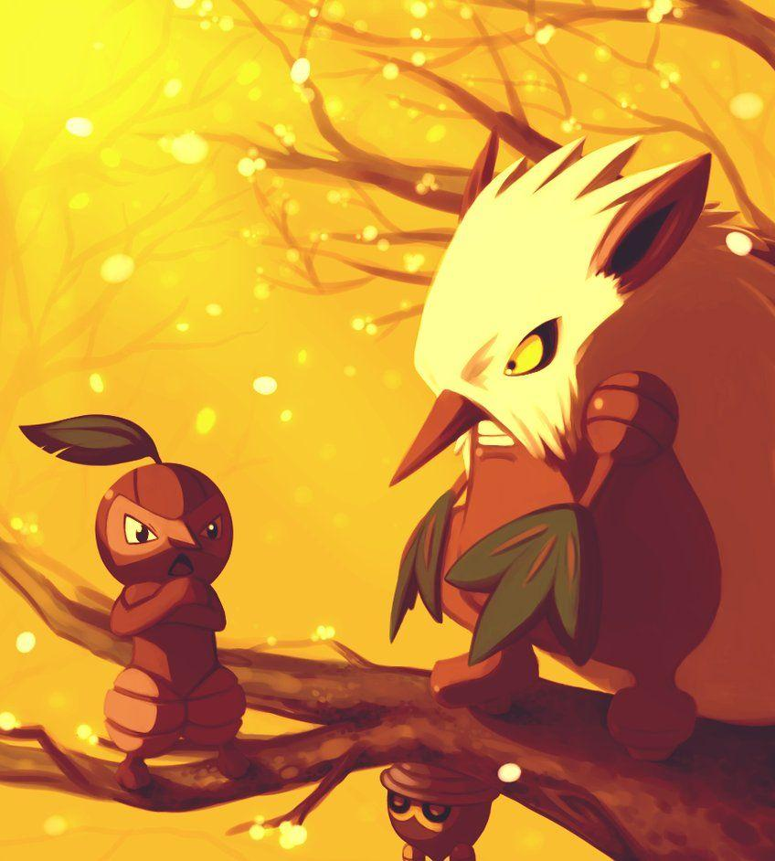Seedot and Nuzleaf and Shiftry | Pokemon | Pinterest | Pokémon and ...