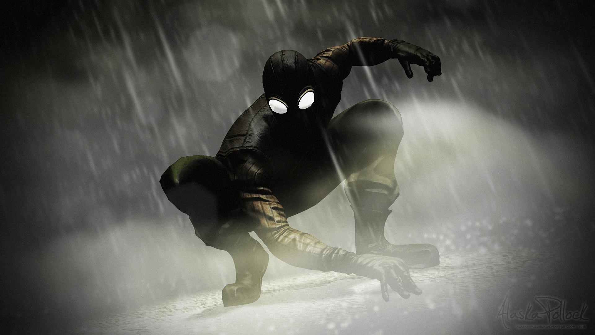 Spider Man Noir Wallpapers Wallpaper Cave