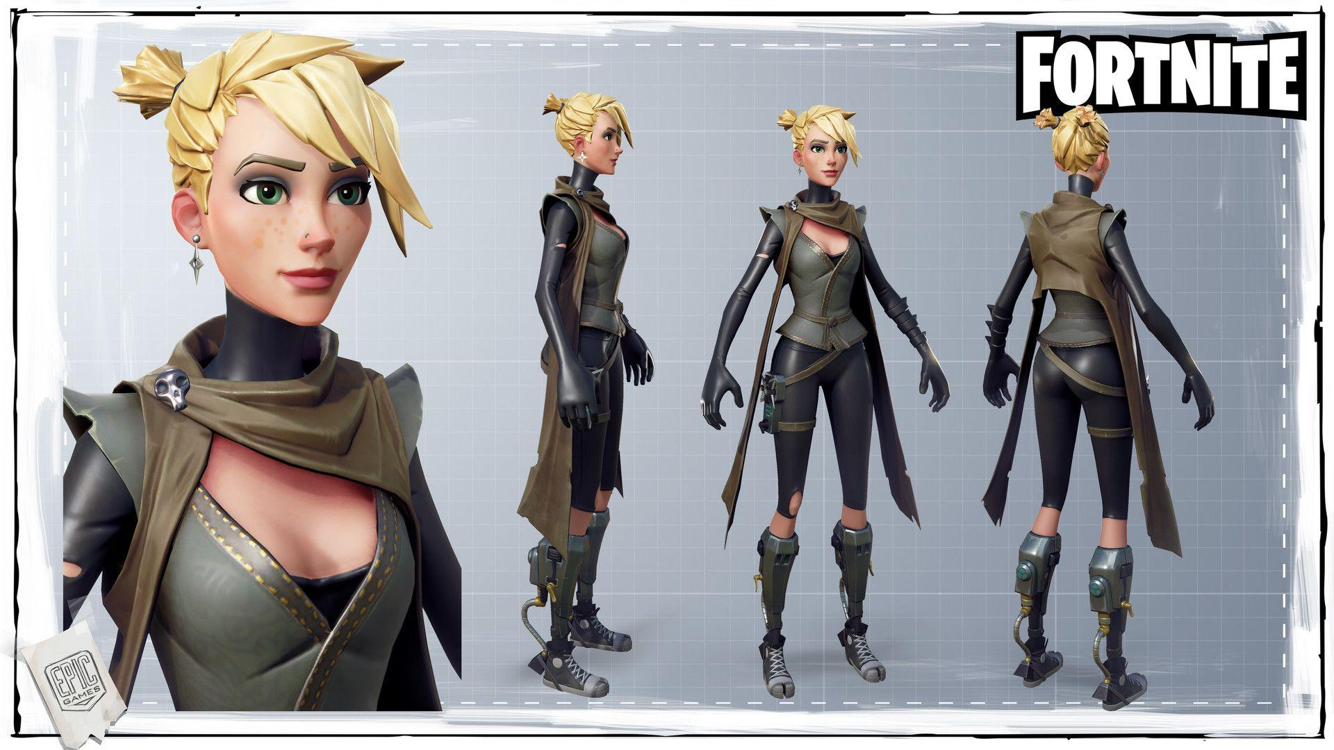 Image - Vitaliy naymushin ninja female final.jpg | Fortnite Wiki ...