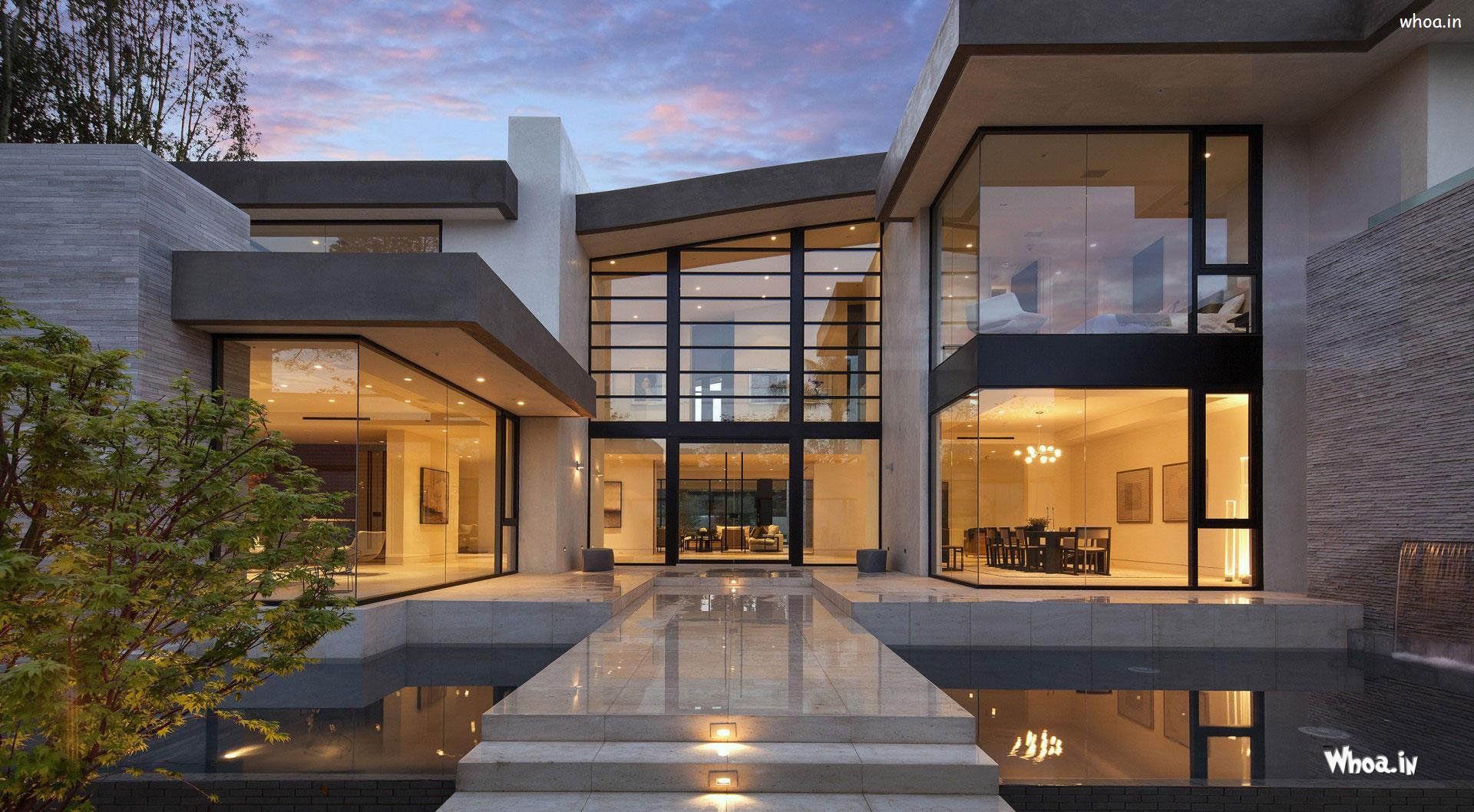 Amazing Modern House Designs HD Wallpaper
