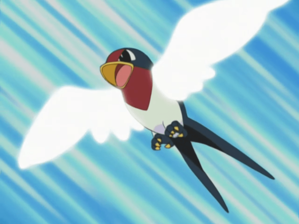 Image - Ash Taillow Wing Attack.png | Pokémon Wiki | FANDOM powered ...