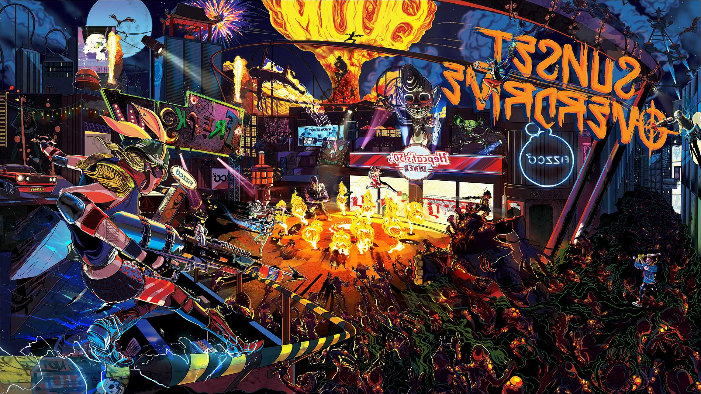 Sunset Overdrive Wallpapers Fantastic Images