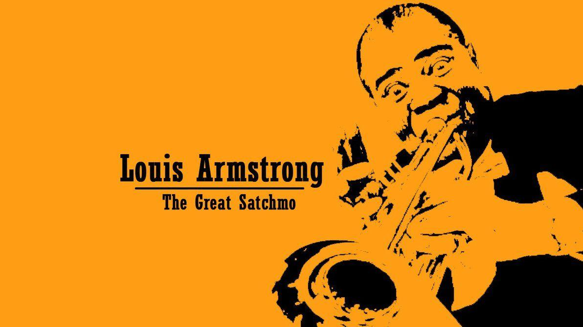 Louis Armstrong Wallpaper by JachoVH on DeviantArt