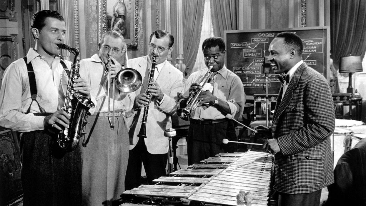LOUIS ARMSTRONG dixieland jazz swing traditional-pop F wallpaper ...