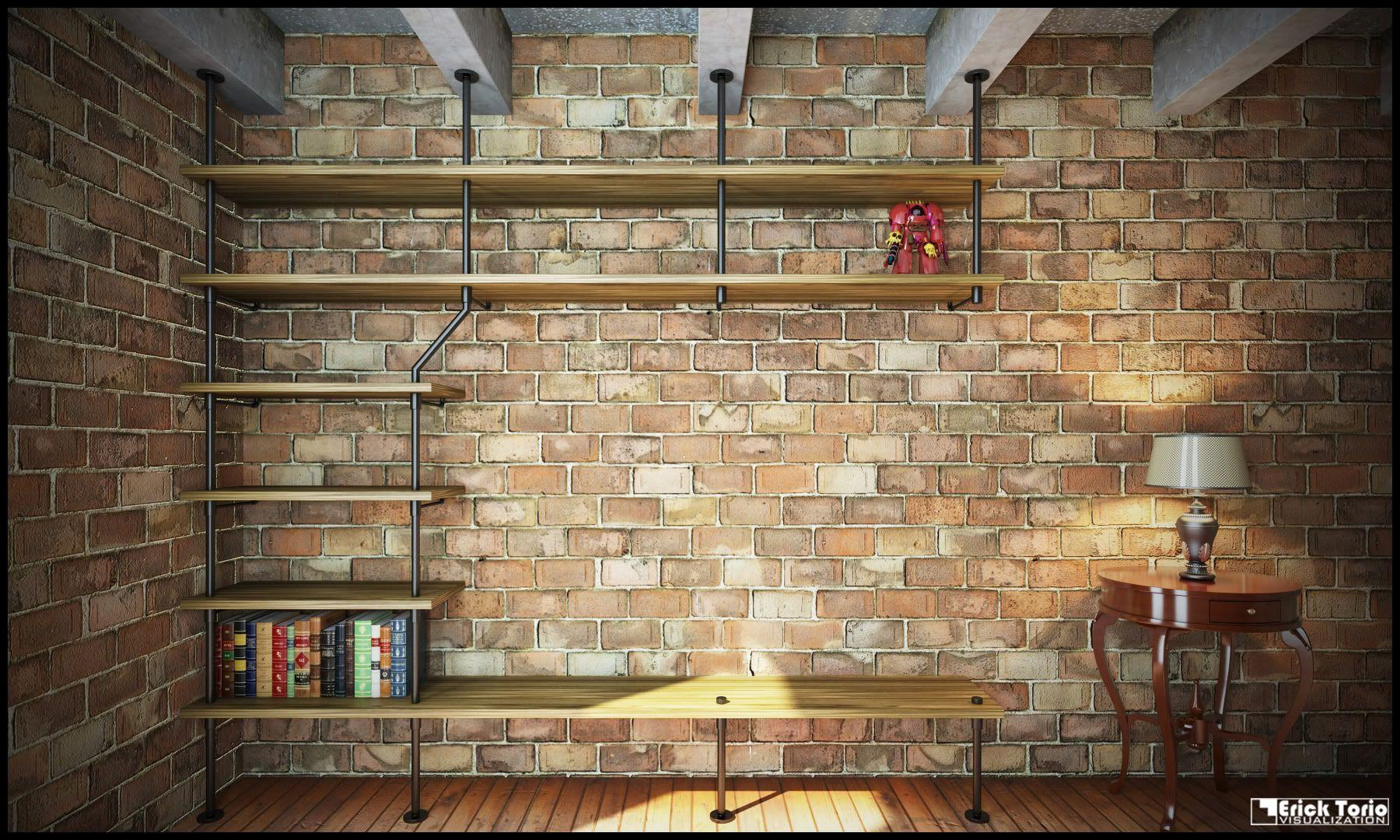 Shelf Design : Stunninglf Wallpapers Picture Inspirations Design For