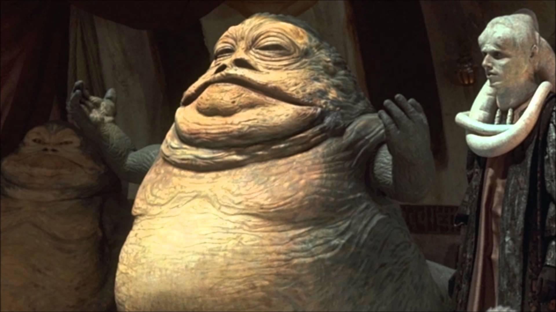 super villains- Jabba The Hutt