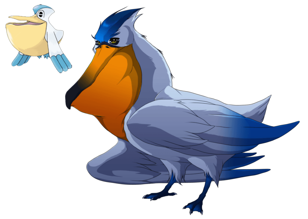 Pelipper- The most annoying bird in Hoenn by blueharuka on DeviantArt