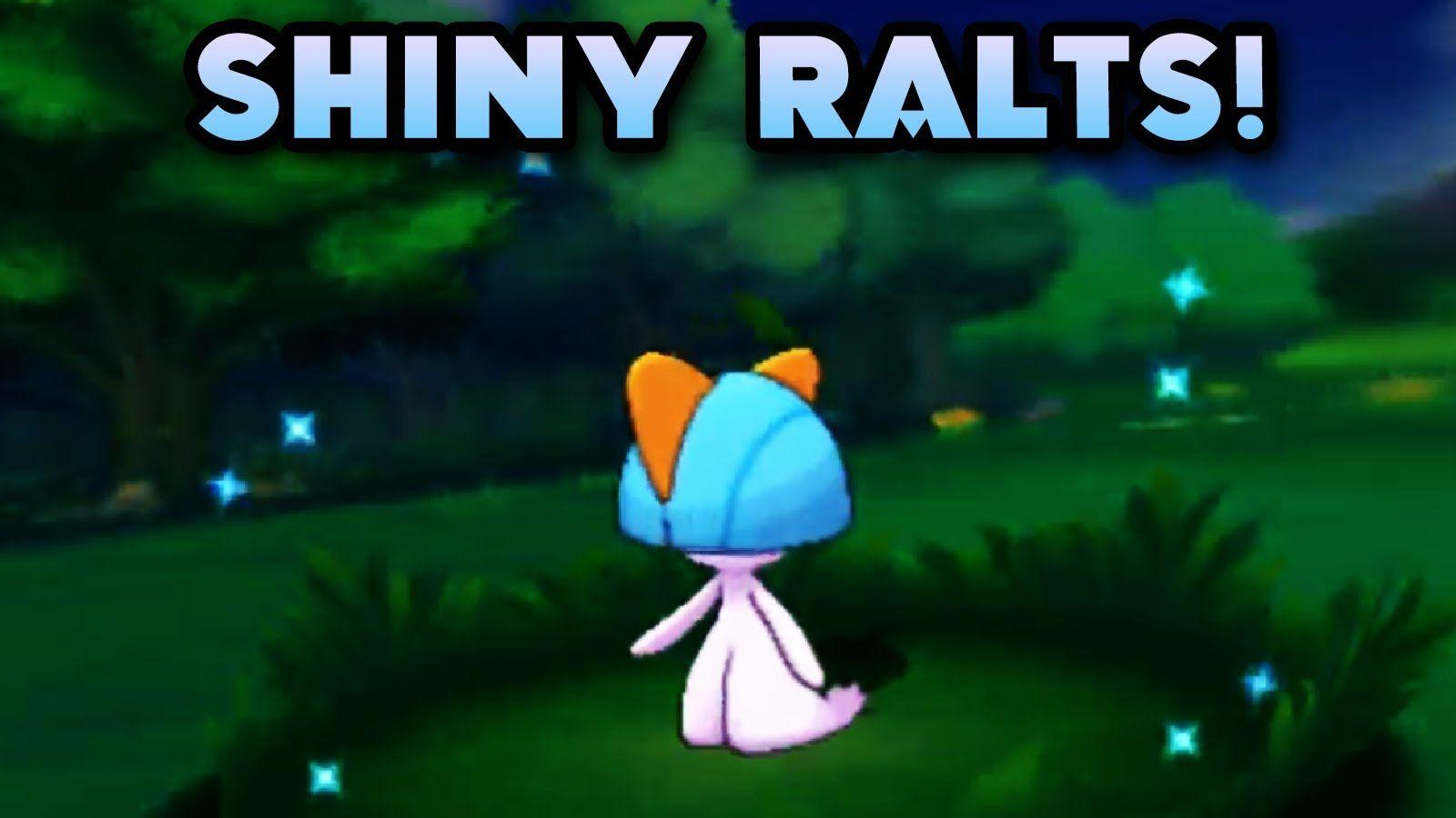 Shiny ralts after 4 encounters!! pokemon omega ruby! - YouTube