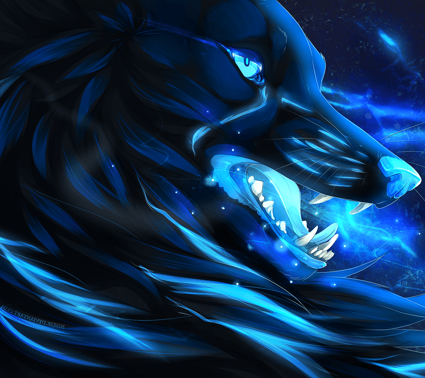 Galaxy Wolf Wallpapers , Wallpaper Cave