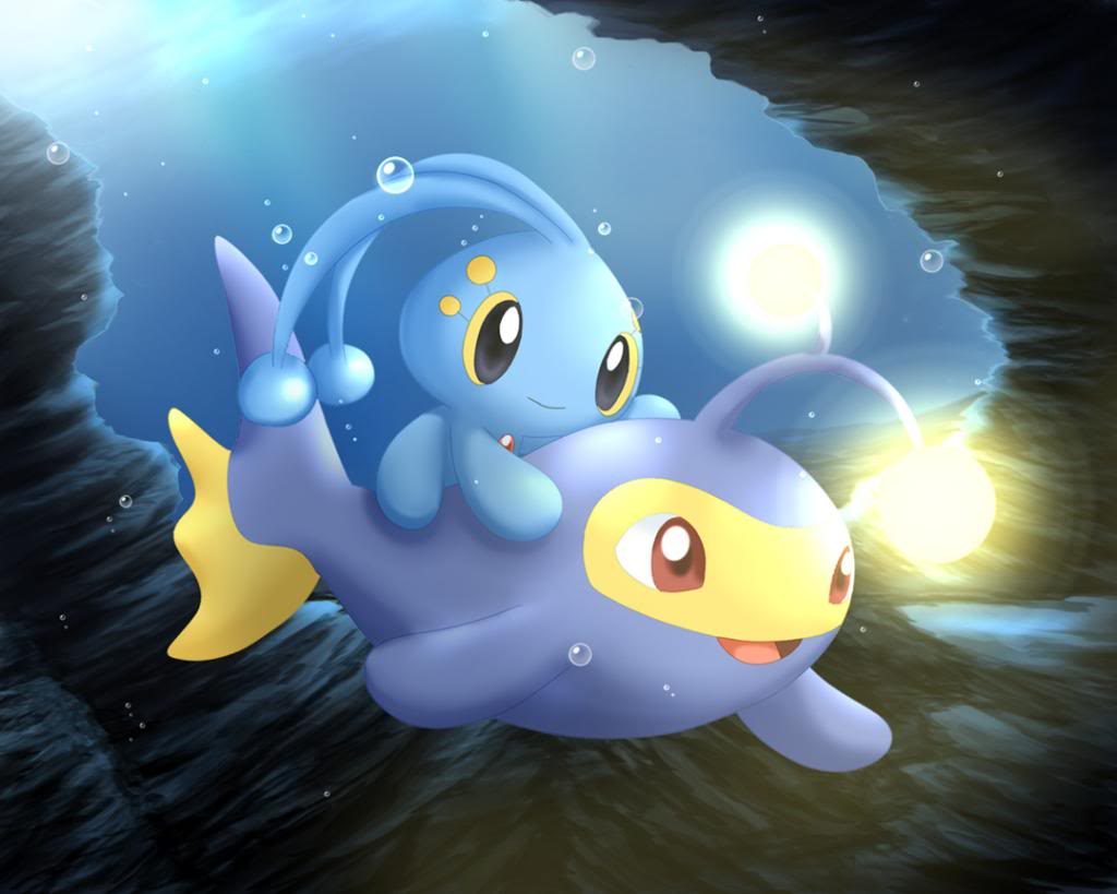 Manaphy and Lanturn