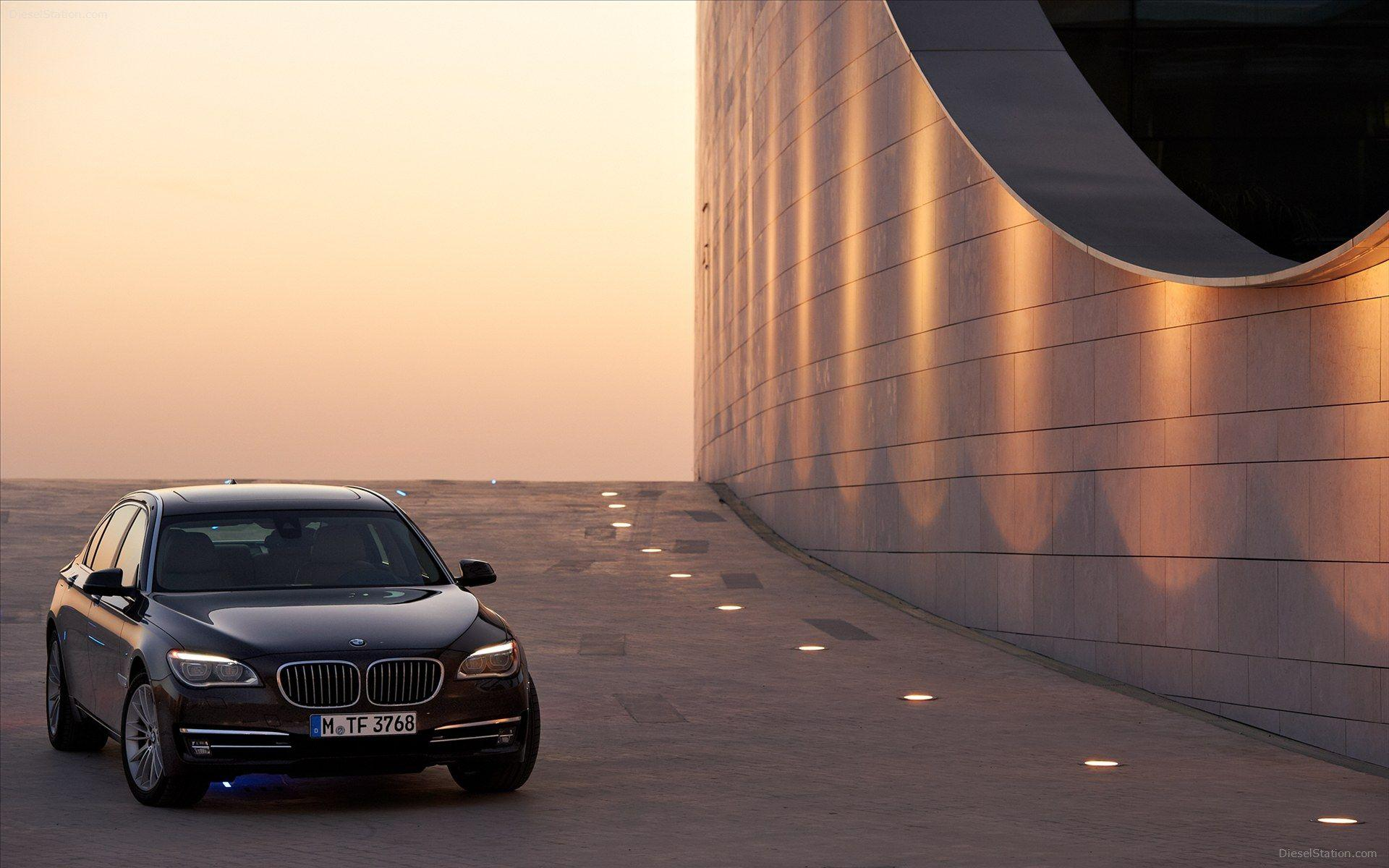 BMW 7 Series 2013 Widescreen Exotic Car Wallpapers of 46 : Diesel