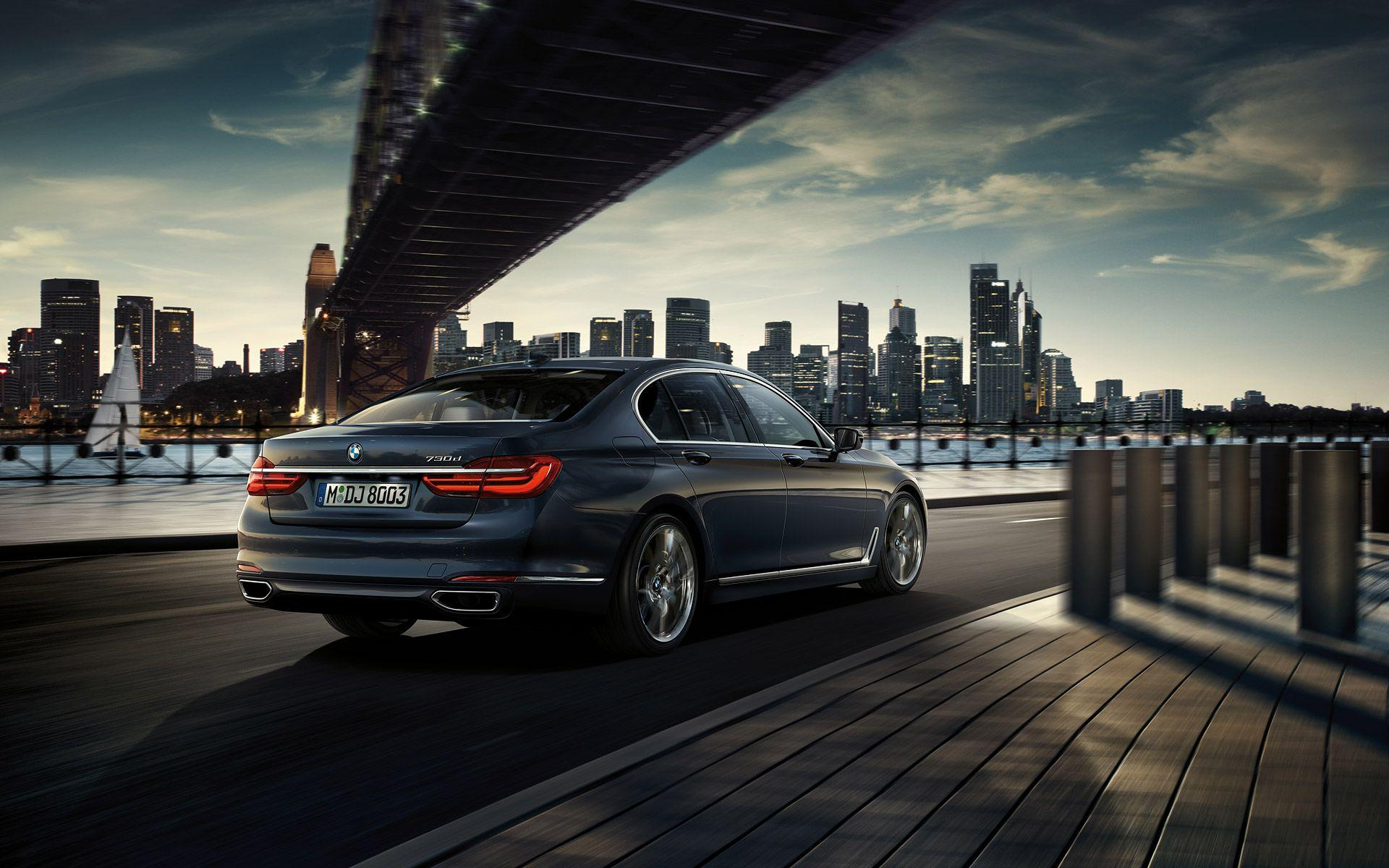 wallpapers 2016 BMW 7 Series