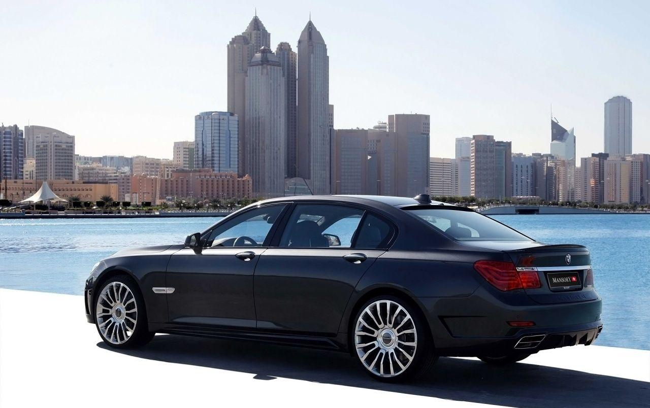 BMW 7 series rear wallpapers